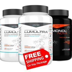 2 Bottle Lumultra + 1 Bottle Nova (180ct) 2 Month Supply + FREE Shipping  by Lumultra