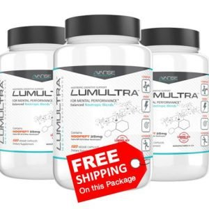 3 Bottle Lumultra (180ct) 3 Month Supply + FREE Shipping  by Lumultra