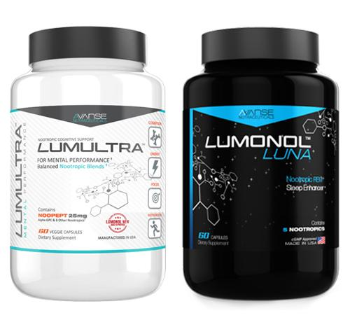 1 Bottle Lumultra + 1 Bottle Luna (120ct) 1 Month Supply  by Lumultra