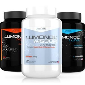 1 Bottle LumUltra Wisdom + 1 Bottle Nova + 1 Bottle Luna (180ct) 1 Month Supply  by Lumultra