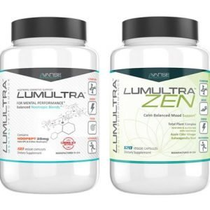 1 Bottle Lumultra + 1 Bottle Zen (120ct) 1 Month Supply  by Lumultra
