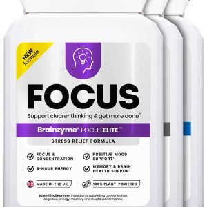 Buy Nootropics Brainzyme Focus 3 in 1