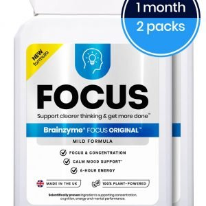 Buy Nootropics Brainzyme Focus Original Nootropics