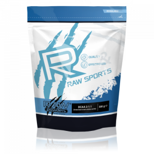 Buy rawpowders BCAA 2:1:1 Powder 500 grams nootropics supplement on sale