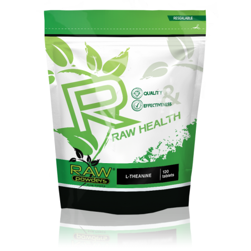 Buy rawpowders L-Theanine 200 mg. 120 Tablets nootropics supplement on sale