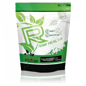 Buy rawpowders Olive Leaf Extract 500mg 120 Capsules nootropics supplement on sale